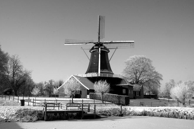 pelmolen-in-the-winter-1249922_bw